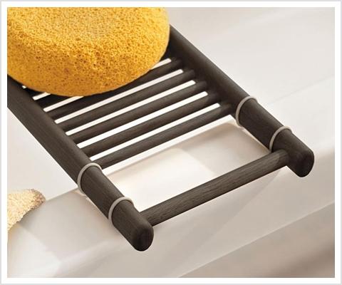 holz badewannenablage ovale aus thermoholz relaxversand. Black Bedroom Furniture Sets. Home Design Ideas